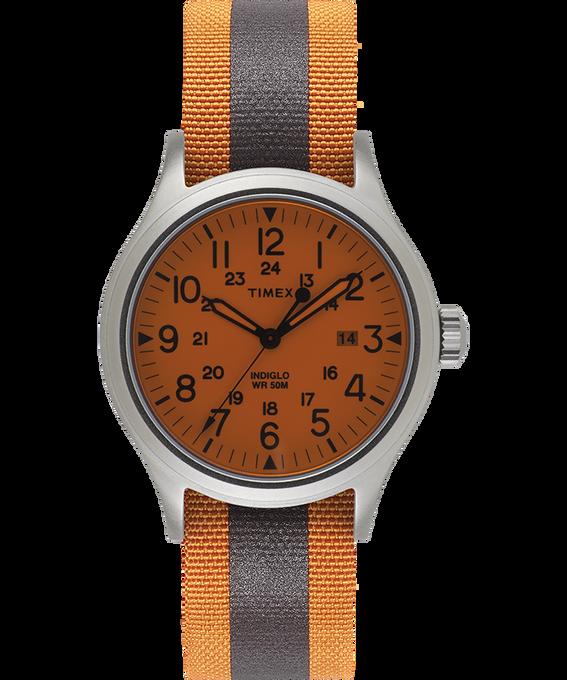 Zegarek Allied z kopertą 40 mm i dwustronnym paskiem materiałowym z detalem odblaskowym