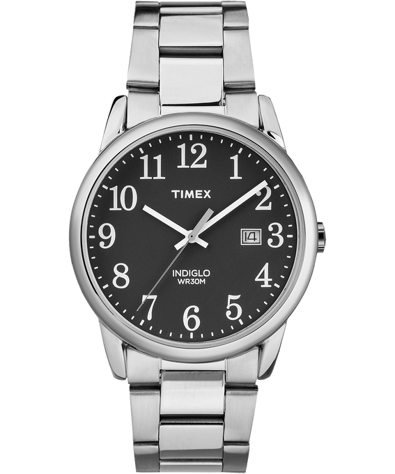 Easy Reader 38mm Stainless Steel Watch with Date