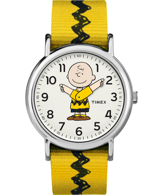 Charlie Brown 38mm Nylon Strap Watch