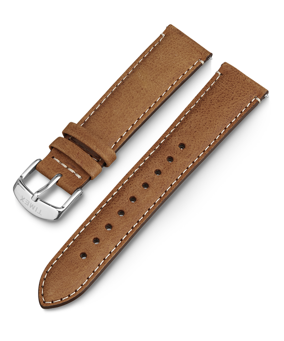 20mm iQ Light Brown Leather Strap