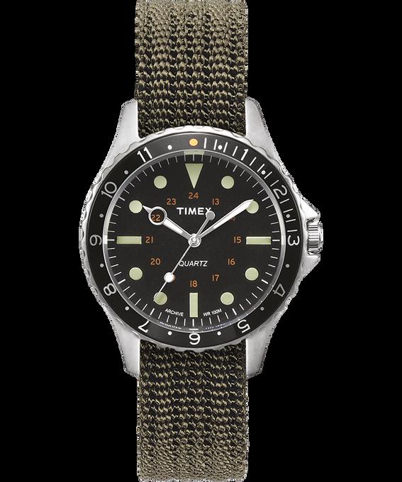 Zegarek Navi Harbor z kopertą 38 mm i nylonowym paskiem