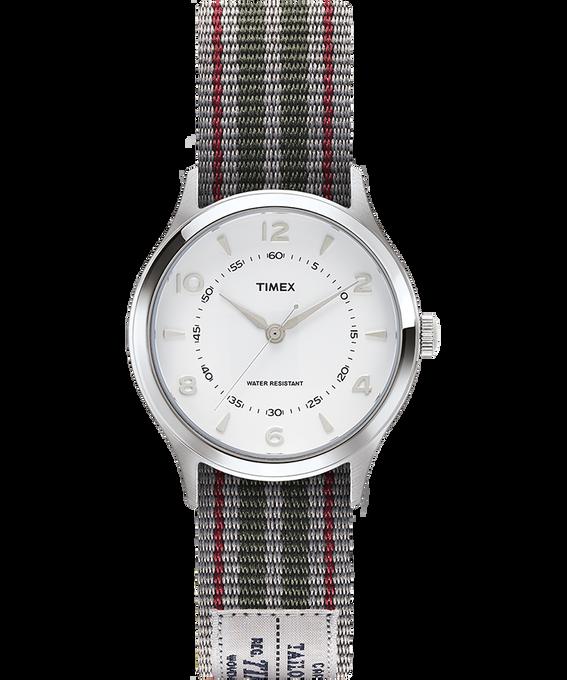 Zegarek Whitney Village z kopertą 36 mm i dwustronnym paskiem z grogramu