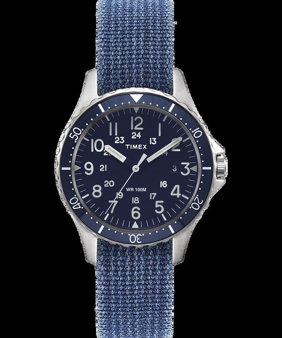 Zegarek Navi Ocean z kopertą 38 mm i dwustronnym paskiem z dekatyzowanego materiału
