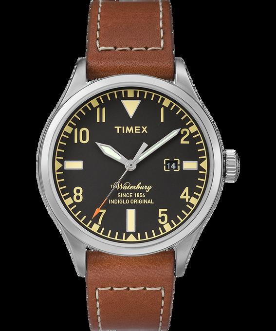 Waterbury 40mm Leather Watch