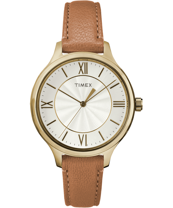 Peyton 36mm Leather Watch