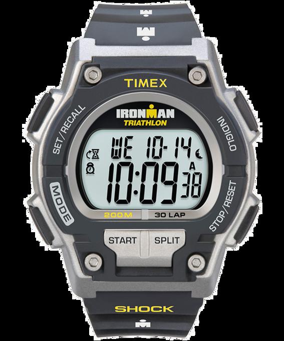 IRONMAN Original 30 Shock Full-Size 42mm Resin Strap Watch