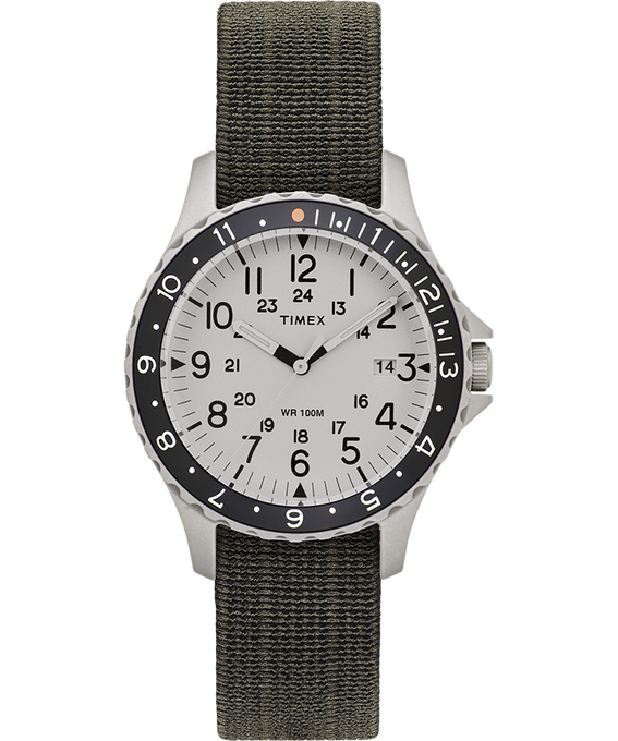 Zegarek Navi Ocean z kopertą 38 mm i paskiem z elastycznego materiału