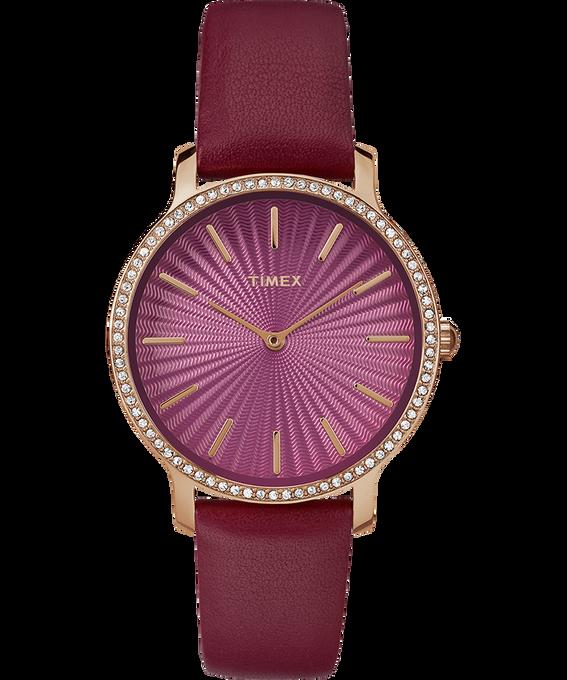 Metropolitan Starlight 34mm Leather Watch
