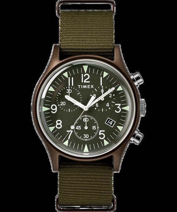 MK1 Aluminum Chronograph 40mm Nylon Strap Watch