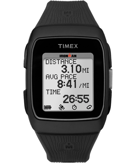 IRONMAN GPS 38mm Silicone Strap Watch