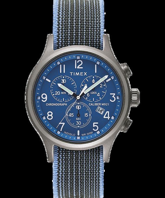 Zegarek Allied Chronograph z kopertą 42 mm i paskiem z elastycznej tkaniny