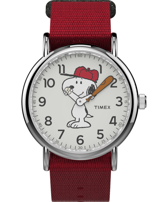 Snoopy 38mm Nylon Strap Watch