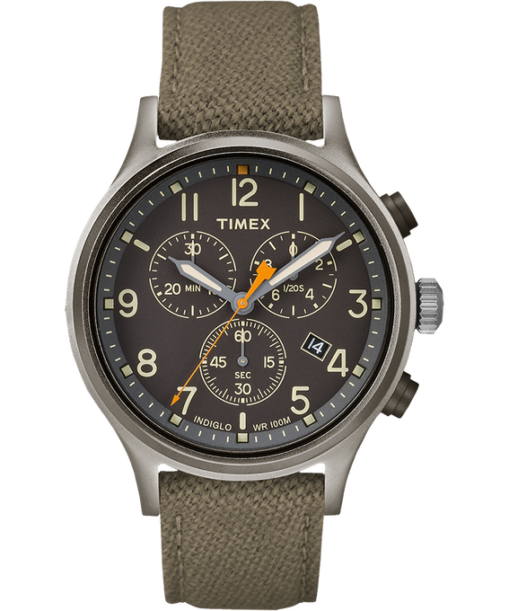 Allied Chronograph 42mm Fabric Strap Watch