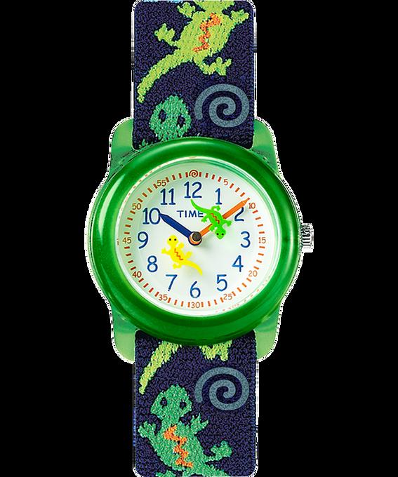 Dziecięcy zegarek analogowy z kopertą 29 mm i paskiem z elastycznego materiału