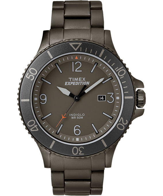 Expedition Ranger 43mm Stainless Steel Watch