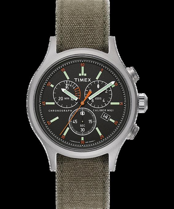 Zegarek Allied Chronograph z kopertą 42 mm i paskiem z dekatyzowanego materiału