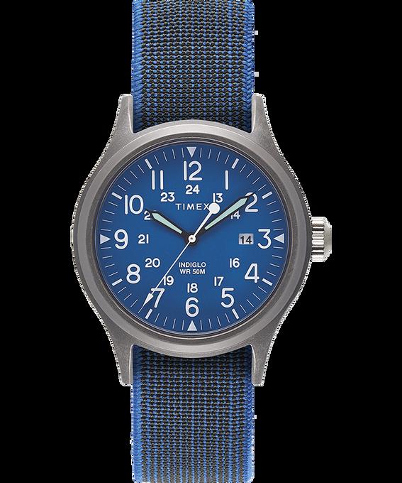 Zegarek Allied z kopertą 40 mm i paskiem z elastycznego materiału