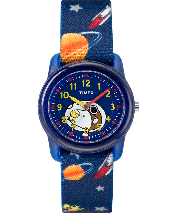 Peanuts 28mm Elastic Fabric Strap Watch