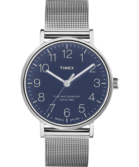 Waterbury 40mm Classic Stainless Steel Watch