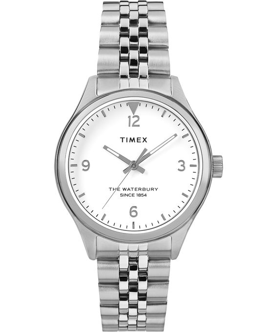 Waterbury Classic 34mm Watch Stainless Steel