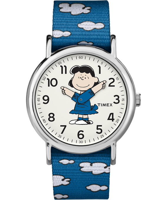 Lucy 38mm Nylon Strap Watch