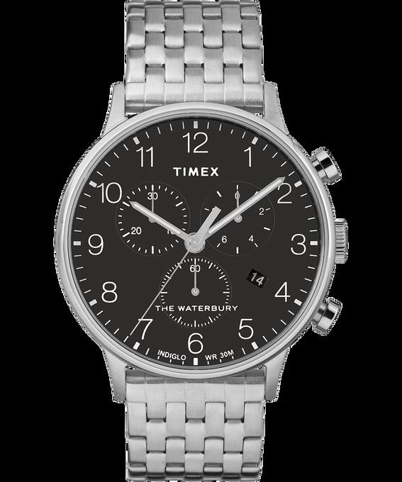 Waterbury 40mm Classic Chrono Stainless Steel Watch