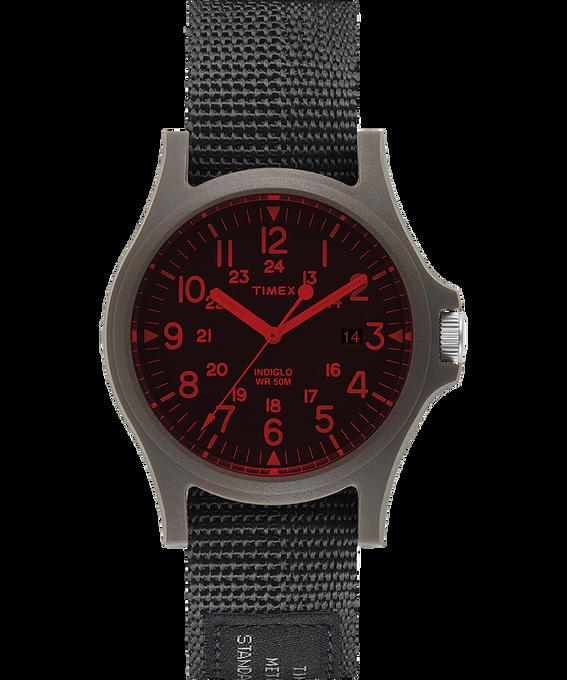 Zegarek Acadia z kopertą 40 mm i nylonowym paskiem