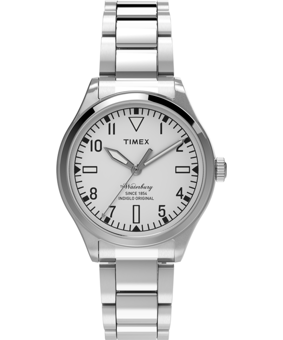 Waterbury Traditional 3 Hand 38mm Stainless Steel Watch