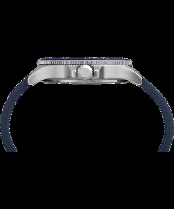Zegarek Allied Coastline z kopertą 43 mm i silikonowym paskiem
