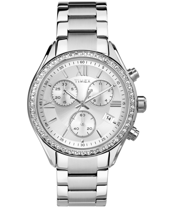 Miami 38mm Stainless Steel Watch