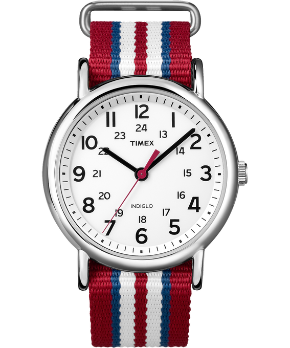 Weekender Stripe 38mm Nylon Strap Watch
