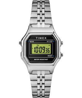 Zegarek Digital Mini z kopertą 27 mm i bransoletą Srebrny/Czarny large