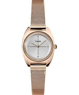 Milano Petite 24mm Mesh Band Watch Rose-Gold-Tone/Silver-Tone large