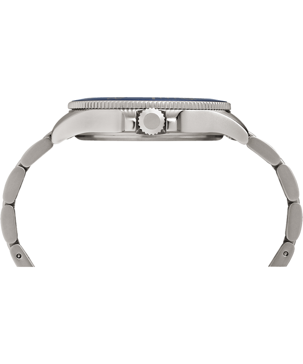 Zegarek Allied Coastline z kopertą 43 mm i bransoletą Silver-Tone/Blue large