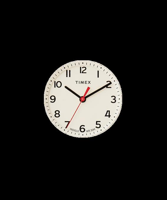 Kremowa tarcza / Czerwona wskazówka sekundnika  large