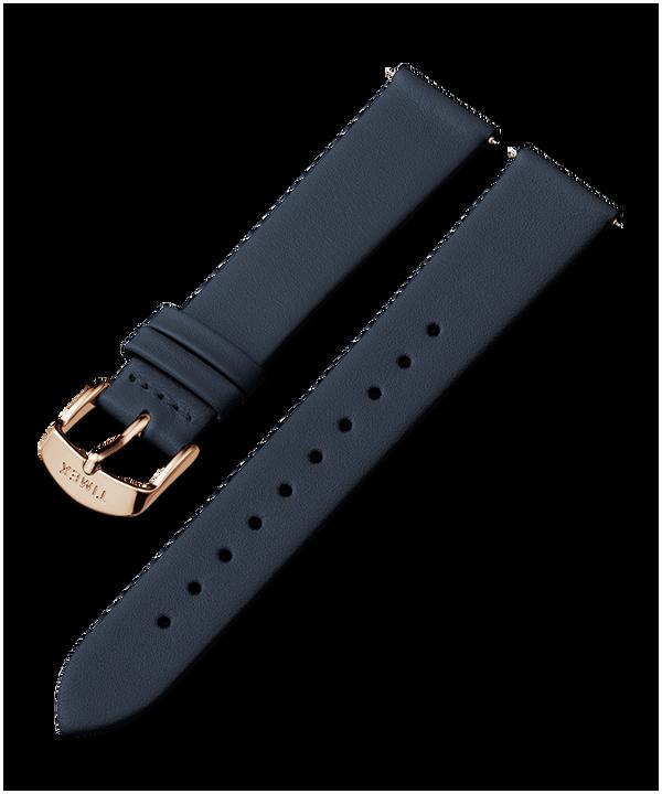 18mm Leather Strap Niebieski large