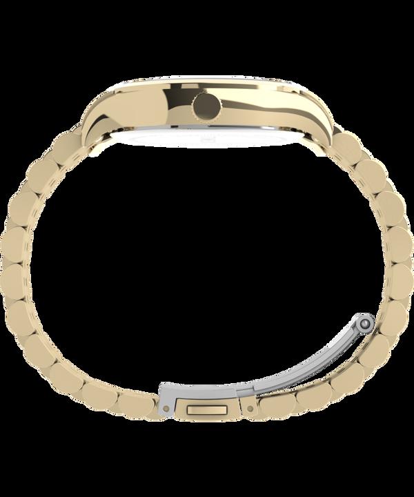 Zegarek Neon 34 mm ze stalową bransoletą Złoty/Kremowy large