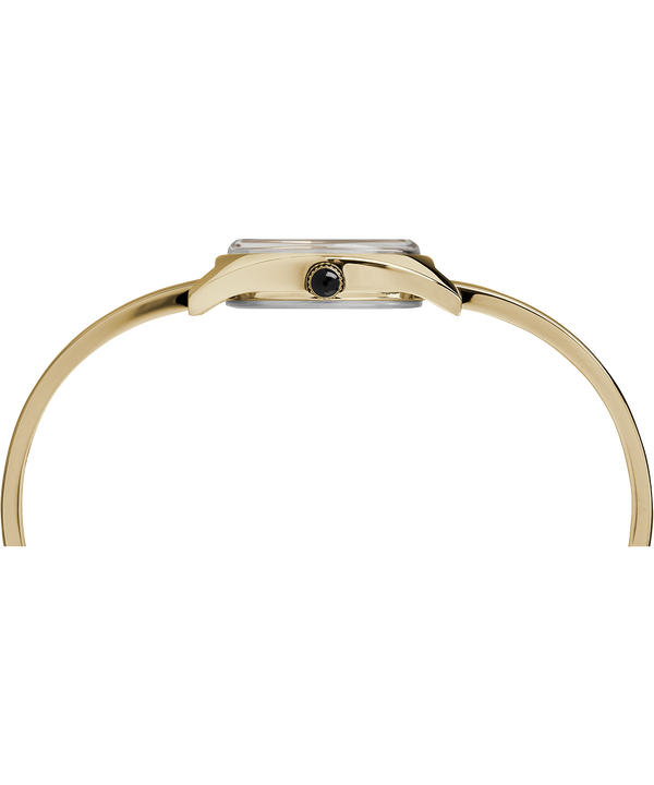 Zegarek Milano Semi-Bangle z kopertą 24 mm Gold-Tone/White large