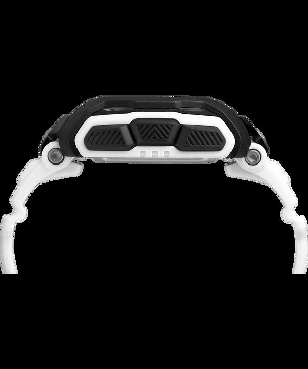Zegarek Timex Command™ Shock z kopertą 54 mm i paskiem z gumożywicy White/Black large