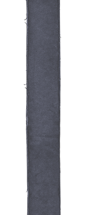 Dekatyzowany skórzany przewlekany pasek