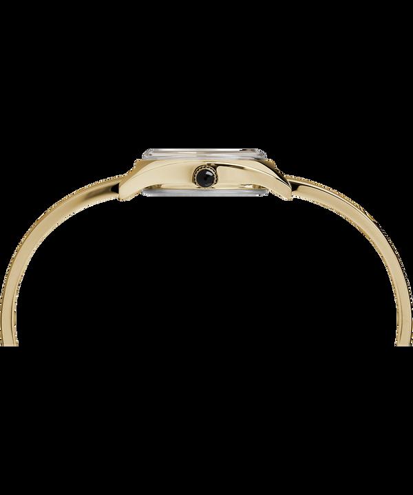 Zegarek Milano Semi-Bangle z kopertą 24 mm Gold-Tone/White large