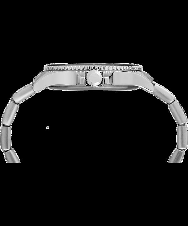 Harborside z kopertą 42 mm i bransoletą Chromowy/W kolorze srebra/Czarny large