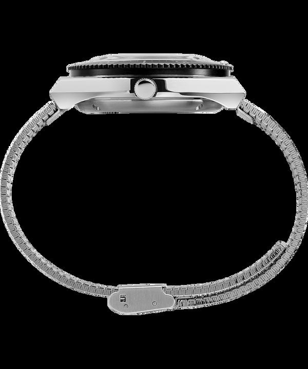 Zegarek M79 Automatic 40 mm ze stalową bransoletą Stal nierdzewna/Czarny large