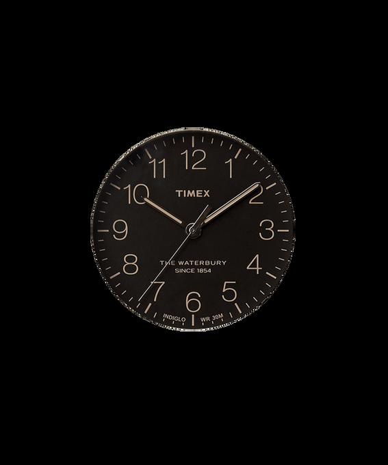 Czarny / Wskazówka sekundnika w kolorze srebra  large