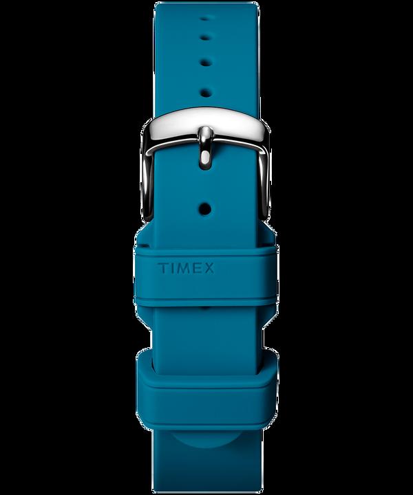 Dwuelementowy pasek silikonowy 18 mm Blue large