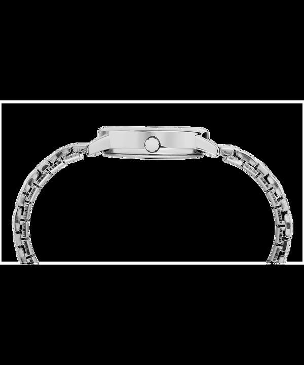 Zegarek Easy Reader z kopertą 30 mm i elastyczną bransoletą Chrome/Silver-Tone/White large
