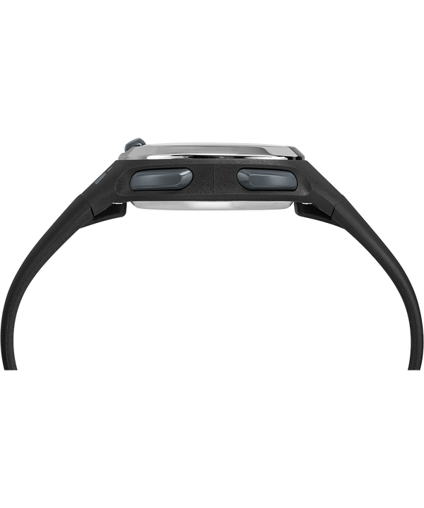 Zegarek Ironman Transit 33 mm Mid-Size z paskiem z gumożywicy Czarny/Srebrny large