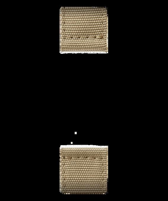 Dwuczęściowy jasnobrązowy nylonowy pasek  large