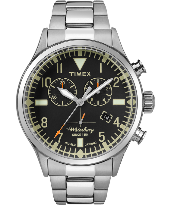Waterbury Traditional Chronograph 42mm Stainless Steel Watch