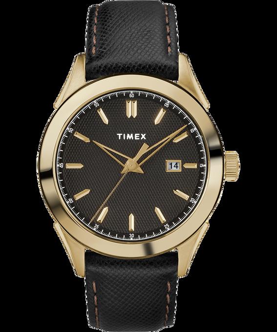 Zegarek męski Torrington z kopertą 40 mm i skórzanym paskiem W kolorze złota/Czarny large